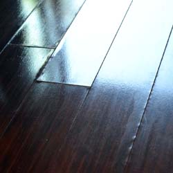 how to fix damaged laminate floor